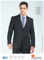 Traje para caballero en PRISMA MODA promocion camisa y corbata gratis - 25oct13