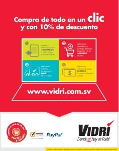 VIDRI El Salvador tienda online