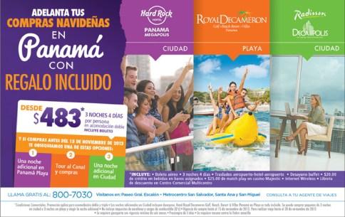 Vete de compras a PANAMA Radisson decapolis - 02oct13