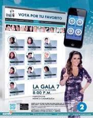 Vota por tu favorito NUMERO UNO el salvador - 21oct13