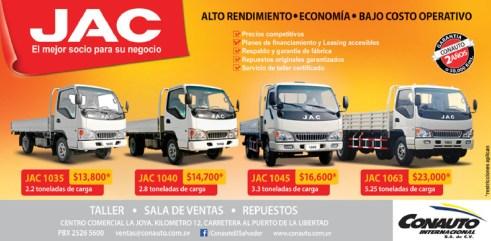 camiones JAC Trucks CONAUTO - 02oct13