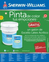 pinta el color de tus emociones SHERWIN WILLIAMS