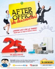AFTER Office descuentos hasta del 25 OFF en La Curacao - 06nov13