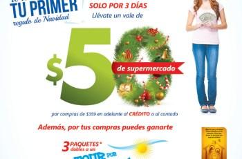 BONO de 50 dolares en supermercado gracias a La Curacao - 22nov13
