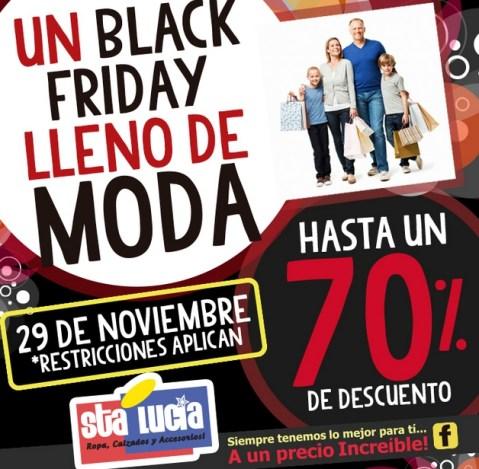 Black Friday fashion Almacen Sta Lucia