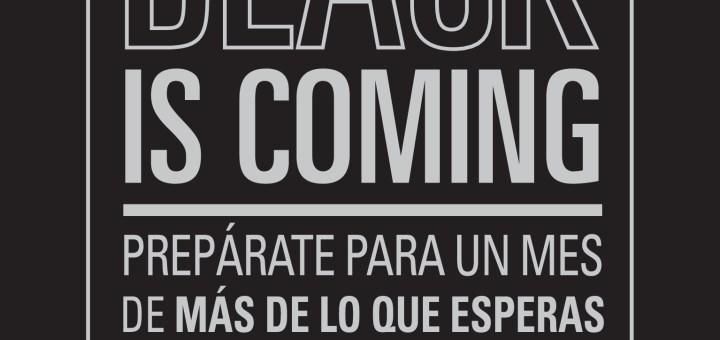 Black Friday is comming un mes con descuentos