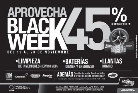 Black WEEK AUTOPITS - 20nov13