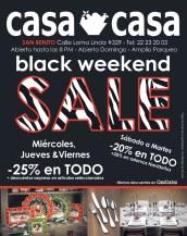 CASA CASA promociones BLACK Weekend 2013