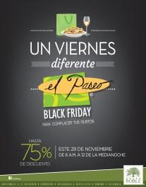 Centro Comercial EL PASEO Black Friday 2013