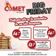 Comet Diner Black Friday - 29nov13
