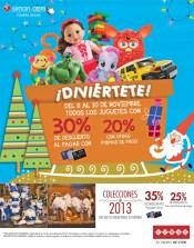 Compra online Siman.com descuento en juguetes y accesorios navideños - 08nov13