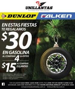 DUNLOP Tires promotion UNILLANTAS - 13nov13