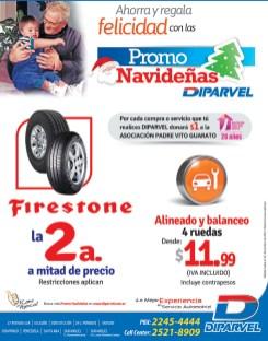Firestone segunda a mitad de precio DIPARVEL el salvador - 18nov13