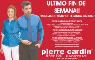 LAST weekend liquidacion pierre cardin - 22nov13