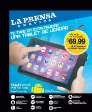 La Prensa Grafica te trae en navidad una TABLET - 13nov13