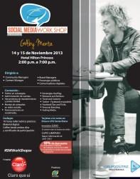 Los Community Managers estaran en el Social Media Work SHOP con Gaby Menta El Salvador 2013