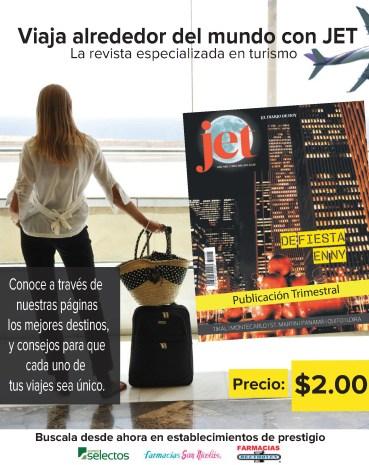 Magazine JET viaja alrededor del mundo - 11nov13