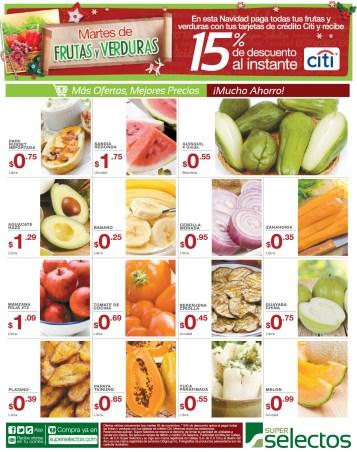 Martes de Frutas y Verduras DESCUENTO al instante con Tarjetas CITI - 26nov13