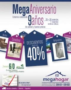 Mega hogar descuentos de anuiiversario - 29nov13