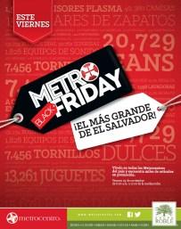 Metro BLACK Friday metrocentro el salvador - 25nov13
