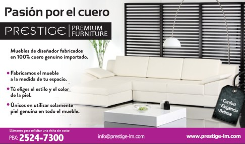 PRESTIGE premium furniture el savador
