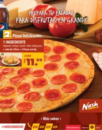 Pizza Nash domicilio prepara tu paladar - 01nov13