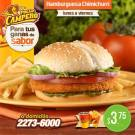 Promociones Pollo Campero hamburguesa chimichurri - 19nov13