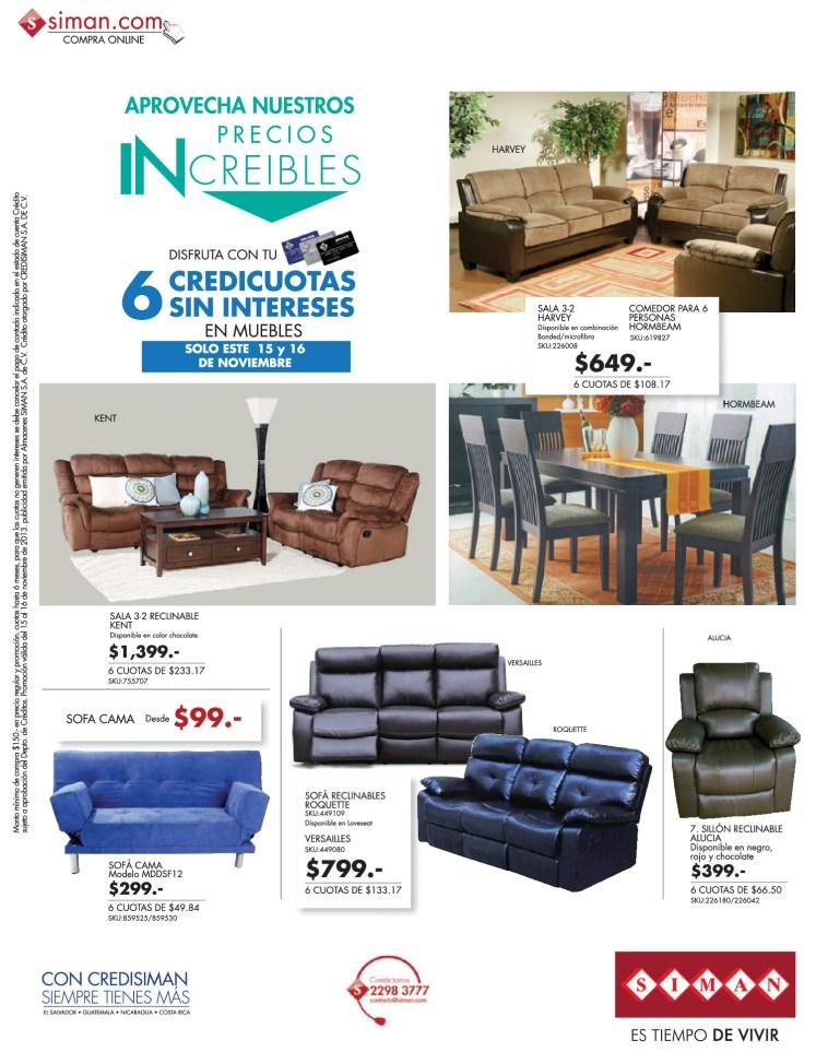 Compra online ofertas en muebles y comedores for Muebles compra