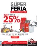 Super Feria de herramientas Descuento SUPER REPUESTOS el salvador - 18nov13
