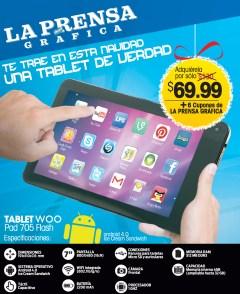 TABLET WOO Pad 705 Flash gracias a LPG - 11nov13
