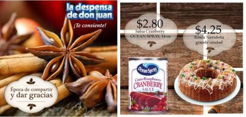 Thanksgiving DAY La Despensa de Don Juan -- 26nov13