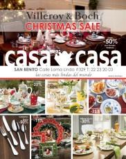 Villeroy & Boch CHRISTMAS SALE en CASA & CASA - 08nov13