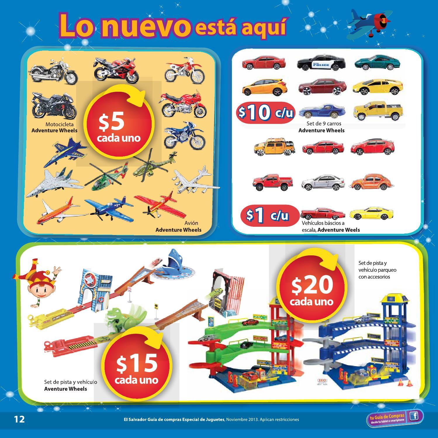 Walmart el salvador juguetes