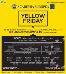 Yellow Friday Academia Europea - 19nov13