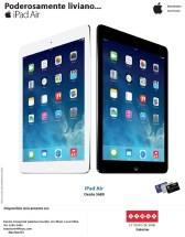 iPad AIR poderosamente liviano en SIMAN galerias - 22nov13