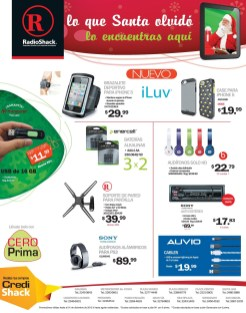 Accesorios para iPhone5 promociones RadioShack - 26dic13