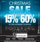 Christmas SALE discounts MONTECARLO trajes para caballero - 06dic13