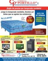 Comercial Portillo BAJON DE PRECIOS por navidad - 13dic13