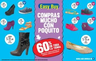 Comprar muchos zapatos con poquito dinero EASY BUY descuentos - 06dic13