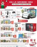 Consolas de video juegos WII Nintendo 3DS XL Tiendas MAX - 21dic-13