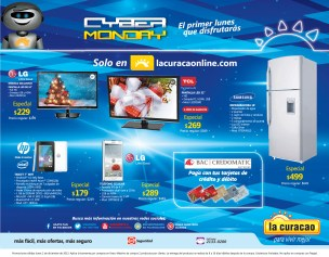 Cyber Monday descuentos en www.lacuracaonline.com -- 02dic13