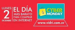 Cyber monday Vidri el salvador 2013