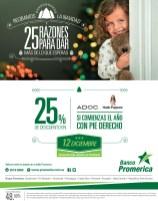 Descuento 25 OFF en ADOC con tarjetas BANCO Promerica - 12dic13