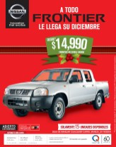 FRONTIER doble cabina Nissan 4x2 - 09dic13