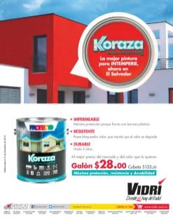 Ferreteria VIDRI tiene Koraza maxima proteccion - 16dic13