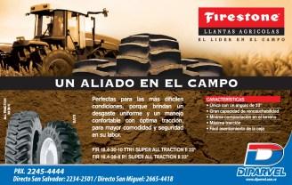 Firestone llantas agricolas DIPARVEL el salvador - 18dic13