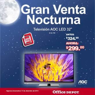 Gran venta noctura PANTALLAS office depot