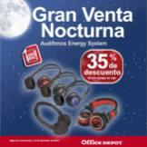 Gran venta noctura office depot Audifonos Energy System