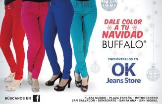 JEANS de colores BUFFALO promociones - 23dic13