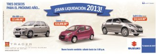 Liquidacion de autos SUSUKI - 26dic13